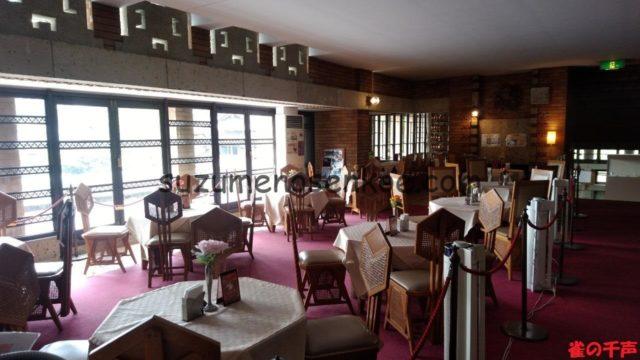明治村帝国ホテル喫茶室内部