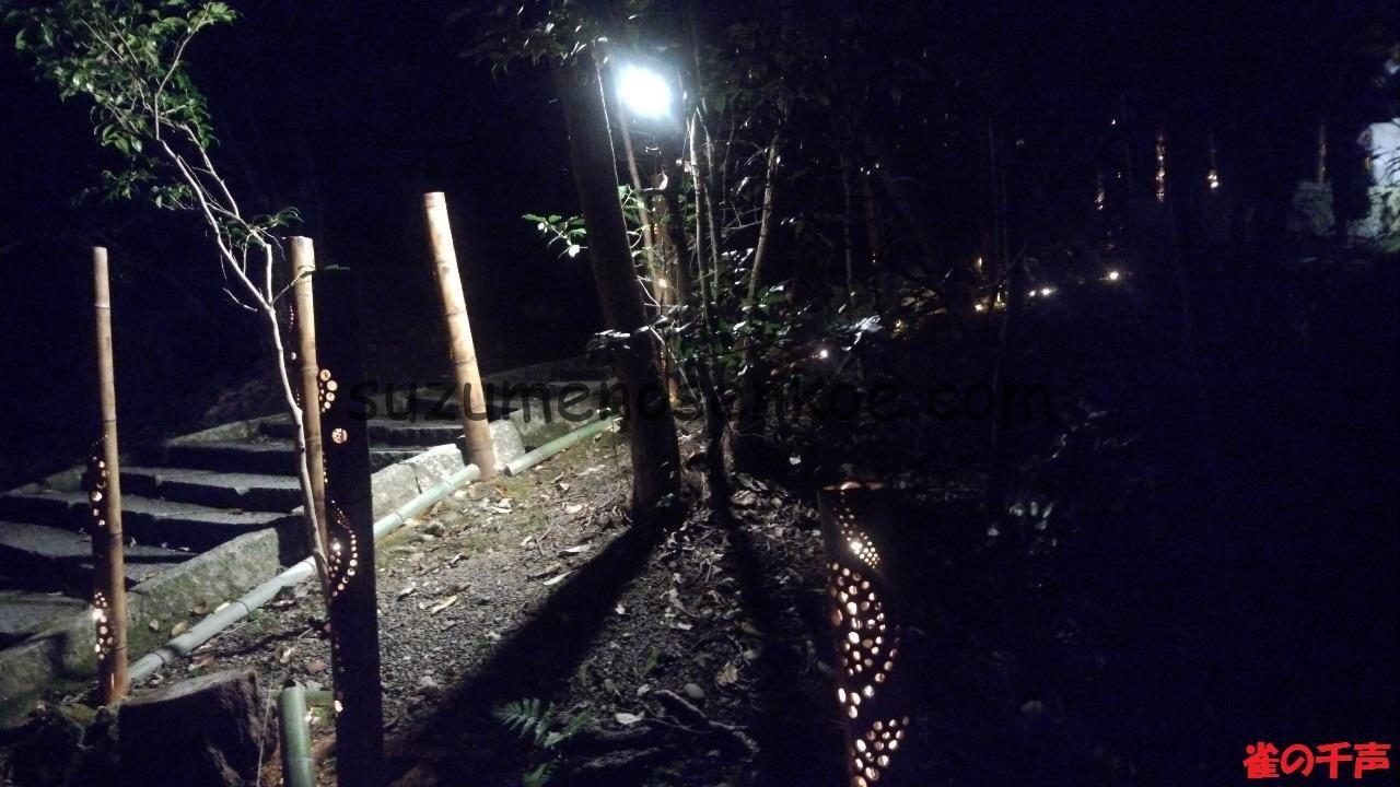 きらめき明治村竹の灯り1